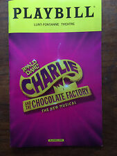 Charlie and the Chocolate Factory  musical Opening Night Playbill NYC Broadway