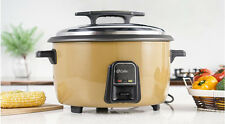 35L Commercial Electric Heating Cookers Steaming Cooking Kitchen Rice Cooker