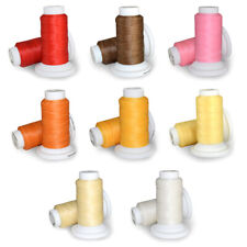Waxed Thread 0.8mm 50m Polyester Cord Sewing Machine Stitching For Leather TK