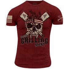 Grunt estilo esta es mi camisa de asar a la parrilla T-Shirt-cardenal