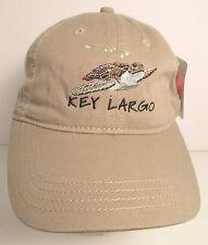 Key Largo Hat Cap Florida Keys Pennekamp Sea Turtle Diving USA Embroidery  New