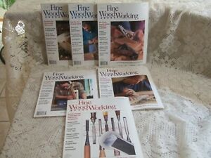 FINE WOODWORKING MAGAZINE    LOT OF 6    YEAR 1999 COMPLETE
