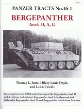 Panzer Tracts 16-1: Bergepanther Ausf. D, A, G