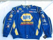 Michael Waltrip #55 NAPA Cotton Twill NASCAR Jacket By Chase - Size Adult Large