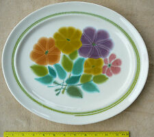 Franciscan FLORAL Serving Platter 14 inch FREE shipping