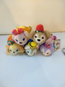 Hong Kong Disney Tsum Tsum 'Big Dreams' Duffy & Friends set of 5 2020 NWT