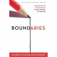 BOUNDARIES When to Say YES or NO Take a Christian Control of Your Life Hardcover