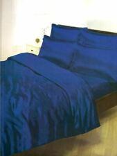 Lenzuola e biancheria da letto blu tinta unita