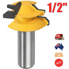 """45 Degree 1/2"""" Mitre Miter Lock Wood Clamp Joint Router Cutting Drill Bit Tool"""