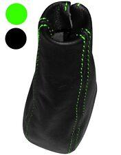 Funda palanca de cambios 100% Piel genuina para Mercedes W639 Vito 03-10, Verde