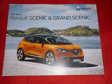 Renault scenic + grand scenic Life Experience Intens Bose Edition prospectus 2016