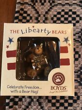 New ListingBoyds Bears Libearty Bear Resin Patriotic United in box
