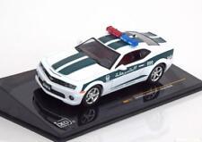 1:43 Ixo Chevrolet Camaro dubai Police 2011 White/Green