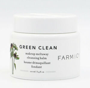 FARMACY Green Clean Make Up Meltaway Cleansing Balm 100ml - NEW - Damaged Box
