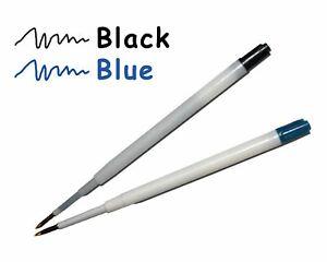 5x Refills Cartridges Ink For Pen Blue Black Colour For Ballpoint Pens