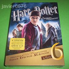 HARRY POTTER Y EL MISTERIO DEL PRINCIPE NUEVO Y PRECINTADO 2 DISCOS DVD + LIBRO
