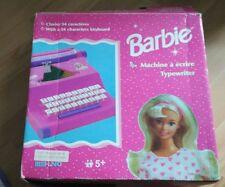 Vintage Rare Barbie Toy Typewriter Mehano Mattel 1998 manual