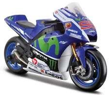 MAISTO 31408L YAMAHA YZR M1 model motorbike Jorge Lorenzo MotoGP 2016 1:10th