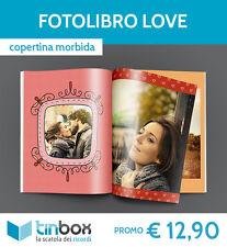 FOTO ALBUM / FOTOLIBRO LOVE f.to A4 - Copertina morbida / FOTOLIBRI TINBOX
