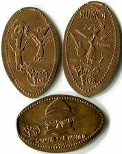 Phineas and Ferb & Perry the Platypus Collection Of Three Copper Pressed Pennies