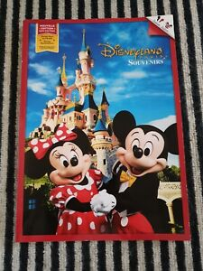 RARE DISNEYLAND PARIS  EXCLUSIVE SOUVENIR BOOK- 64 PAGES- ENGLISH/FRENCH - NEW-