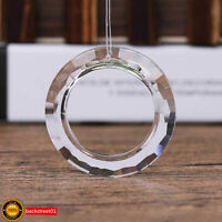 1pcs 50mm Circle Handing Ring Chandelier Glass Crystal Lamp Prisms Drops Pendant