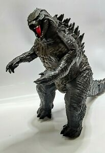 "Giant 2014 Toho Jakks Godzilla - 21"" x 34"" x 9"" *Tail Tip Absent*"