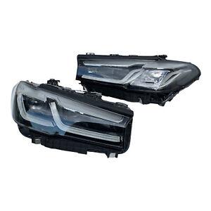 2X NEW HEADLIGHTS ADAPTIVE LED BMW 5 G30 G31 F90 M5 LCI 9850601 + 9850602