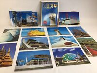 Lot of 36 Japan World Expo 1970 Vintage Postcards Unused Japanese Architecture