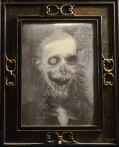 Scary Picture Animated Motion Changing Face NFT card created by ELY M. elymbmx