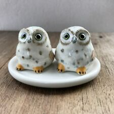 Dot Owl Ceramic Salt & Pepper Shakers Animal Decorative Salt and Pepper Shakers