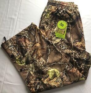WFS Burly Camo Waterproof Pants Hunting Fishing Outdoor Activity  M, L, XL, 2 XL