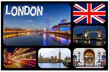 London,GB - Souvenir Nouveauté Réfrigérateur Aimant - Sites / Drapeau / Tout