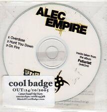(ET753) Alec Empire, Overdose - 2005 DJ CD