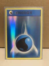Pokemon TCG Evolutions - Water Energy 93/108 Rare Reverse Holo - NM