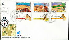 1988 Israel. Nature Reserve. First Day Cover. Compass, Horse, Fox