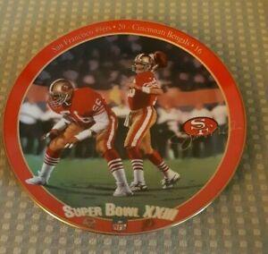 The Bradford Exchange Super Bowl XXIII Collector Plate