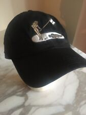 Ahead Black Hat Cap Make Lady Alligator Golf Adjustable strap back
