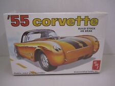 '55 Corvette AMT Model Kit - Build Stock or Drag  T287 - 1/25 Scale -Made in USA