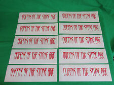 Lot of 10 Queens Of The Stone Age cling window decal stickers