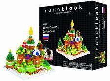 St. Basil's Cathedral Nanoblock Miniature Building Blocks New Sealed Pk NBH 051