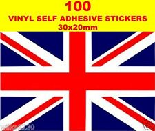 100 great britain flags decals car van bus truck Sticker bike Scooter dub cart