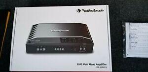 Rockford Fosgate R2-1200X1 Prime 1200W Mono Amplifier, excellent condition