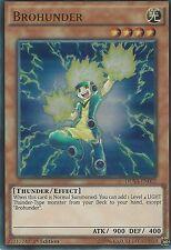 YU-GI-OH CARD: BROHUNDER - ULTRA RARE - DUSA-EN012 - 1ST EDITION