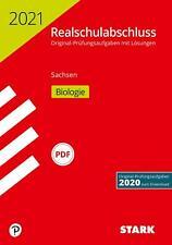 STARK Original-Prüfungen Realschulabschluss 2021 - Biologie - Sachsen | Buch
