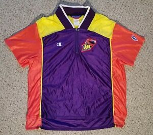 Vintage WNBA Phoenix Mercury Warm Up Jersey Shooting Shirt 1997 Champion USA L