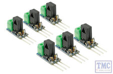 DCD-SDC6 DCC Concepts Solenoid Decoder Converter - 3 Wire to 2 Wire DC (6)