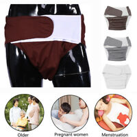 Reusable Adult Cloth Diaper Nappy Pants for Incontinence Bedwetting Tasteful US