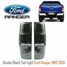 SMOKE BLACK TAIL LIGHT LAMP REAR FORD RANGER MK2 XLT PX2 WILDTRAK 2015-2017