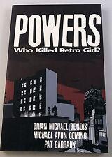 Powers: Who Killed Retro Girl? TPB Image Comics - Brian Michael Bendis *050117